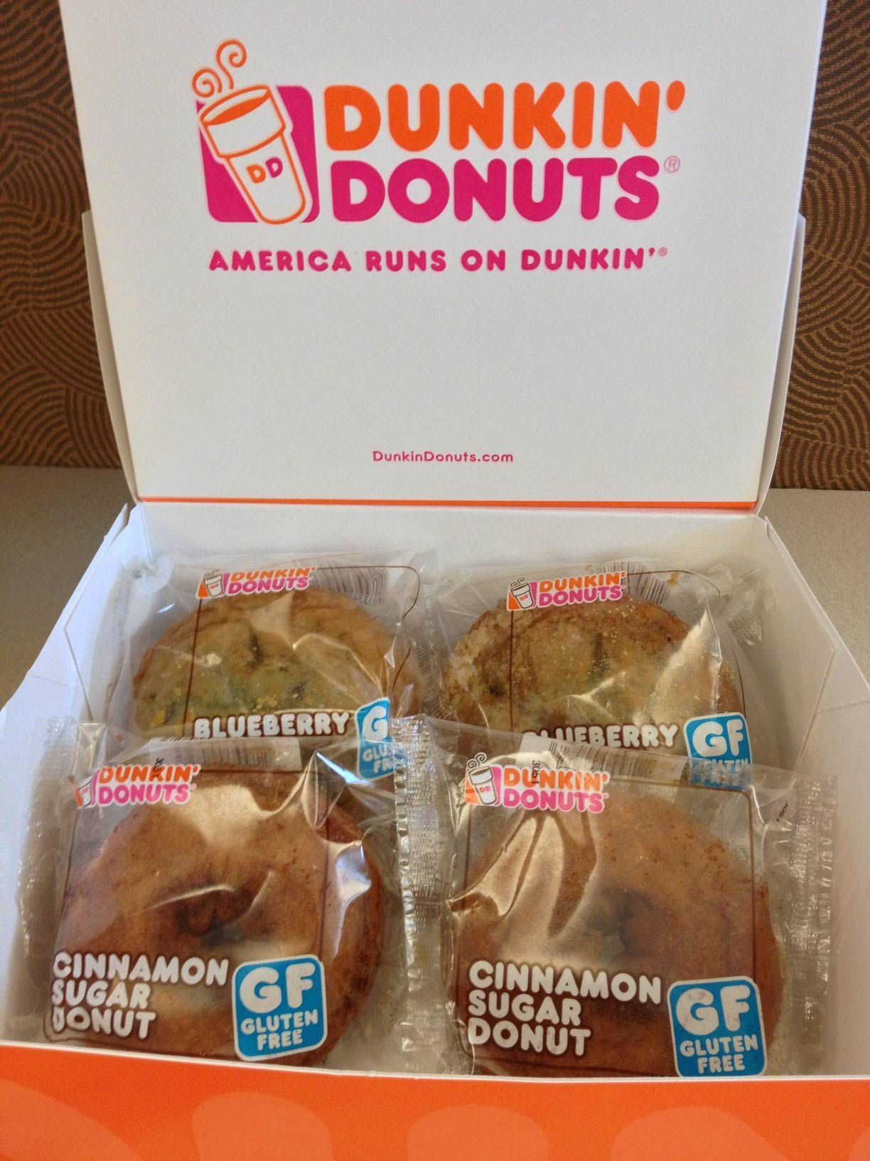 What can you order at dunkin donuts if youre gluten free dunkin donuts diligently avoids contamination of gluten free treats negle Choice Image