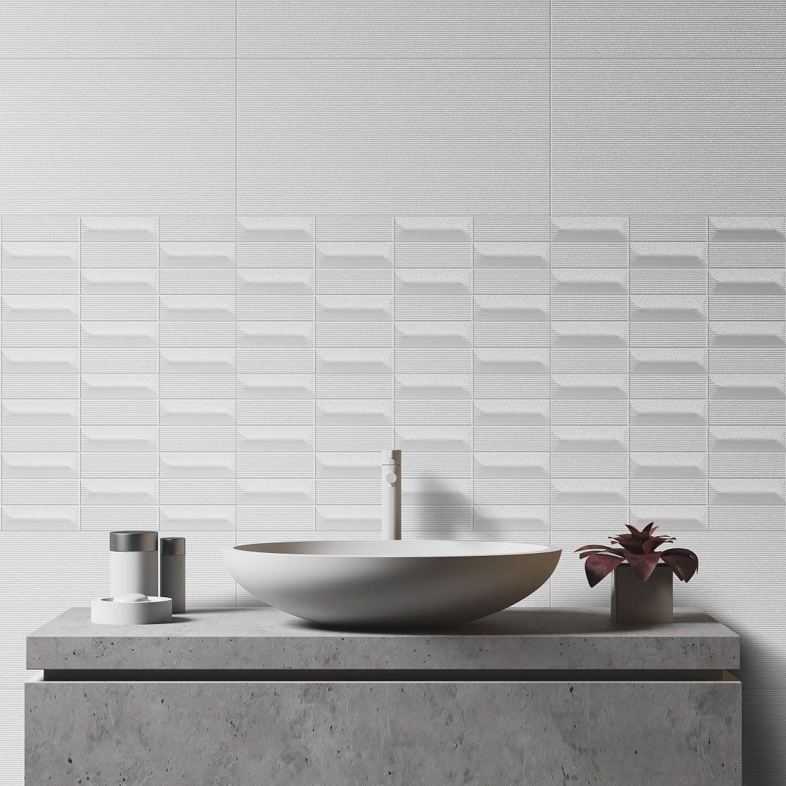 Bathroom Tile Ideas | EQUINOX | Wall Tile, 30X60 cm, Glossy ...