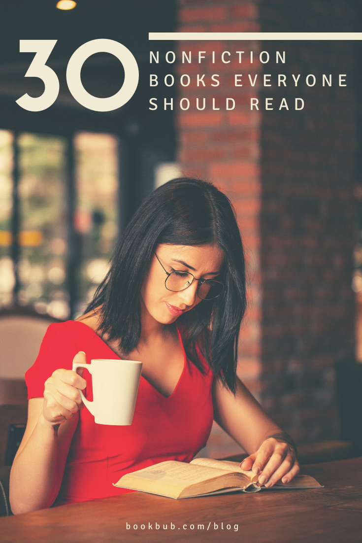 30 Nonfiction Books That Are Guaranteed to Make You Smarter is part of Nonfiction books, Book worth reading, Nonfiction, Books, Reading, Historical nonfiction - Including books about things you never knew you wanted to know!