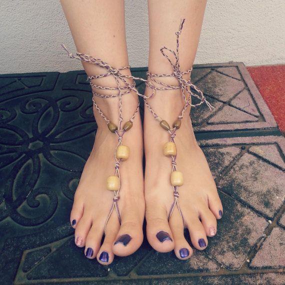 hemp barefoot sandals