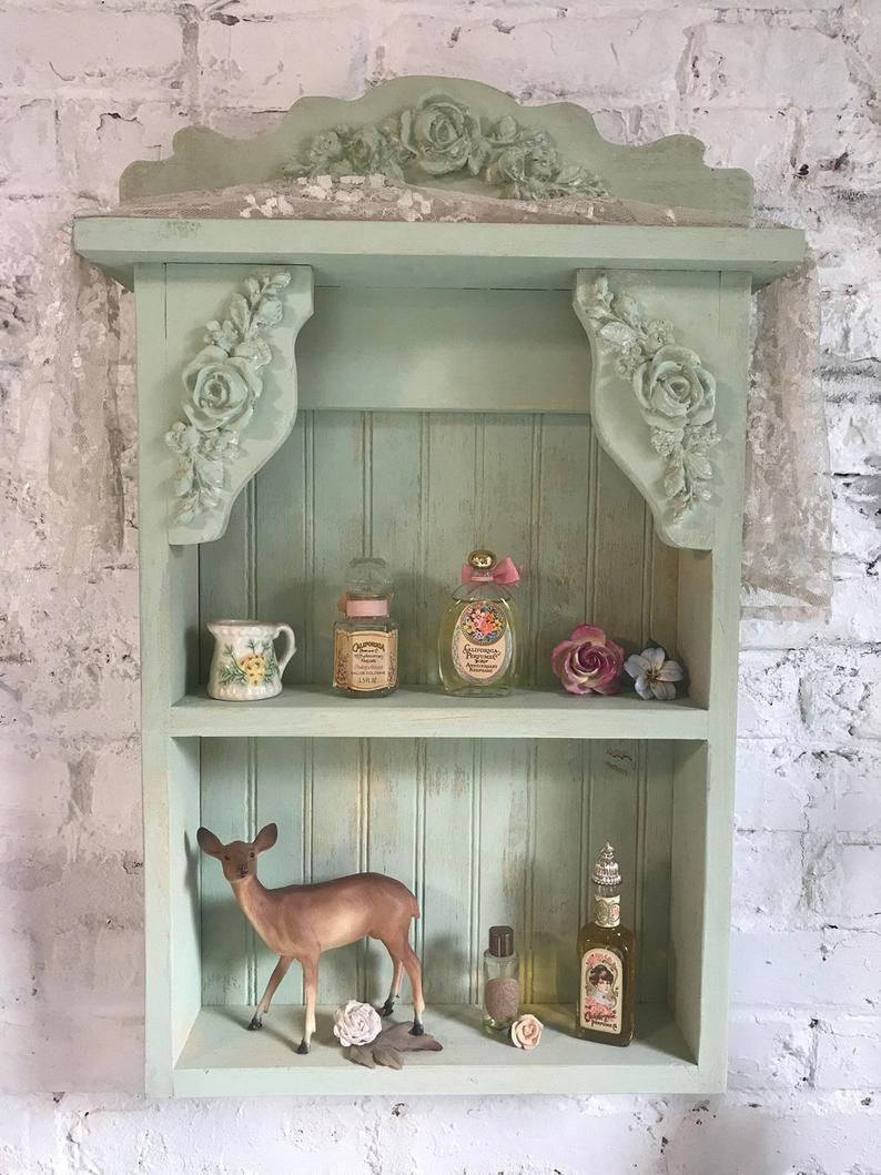Photo of Painted Cottage Prairie Chic Hand Made Shabby Chic Shelf