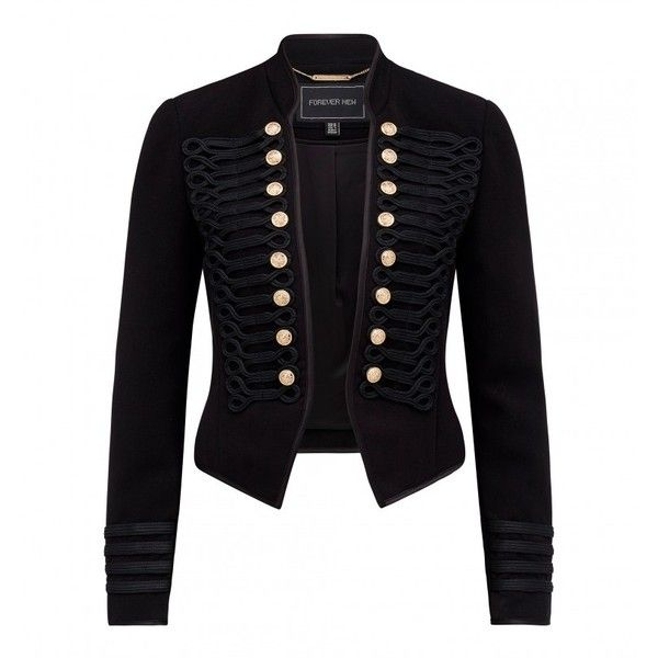 Arabella drummer jacket ($100) ❤ liked on Polyvore featuring outerwear and jackets