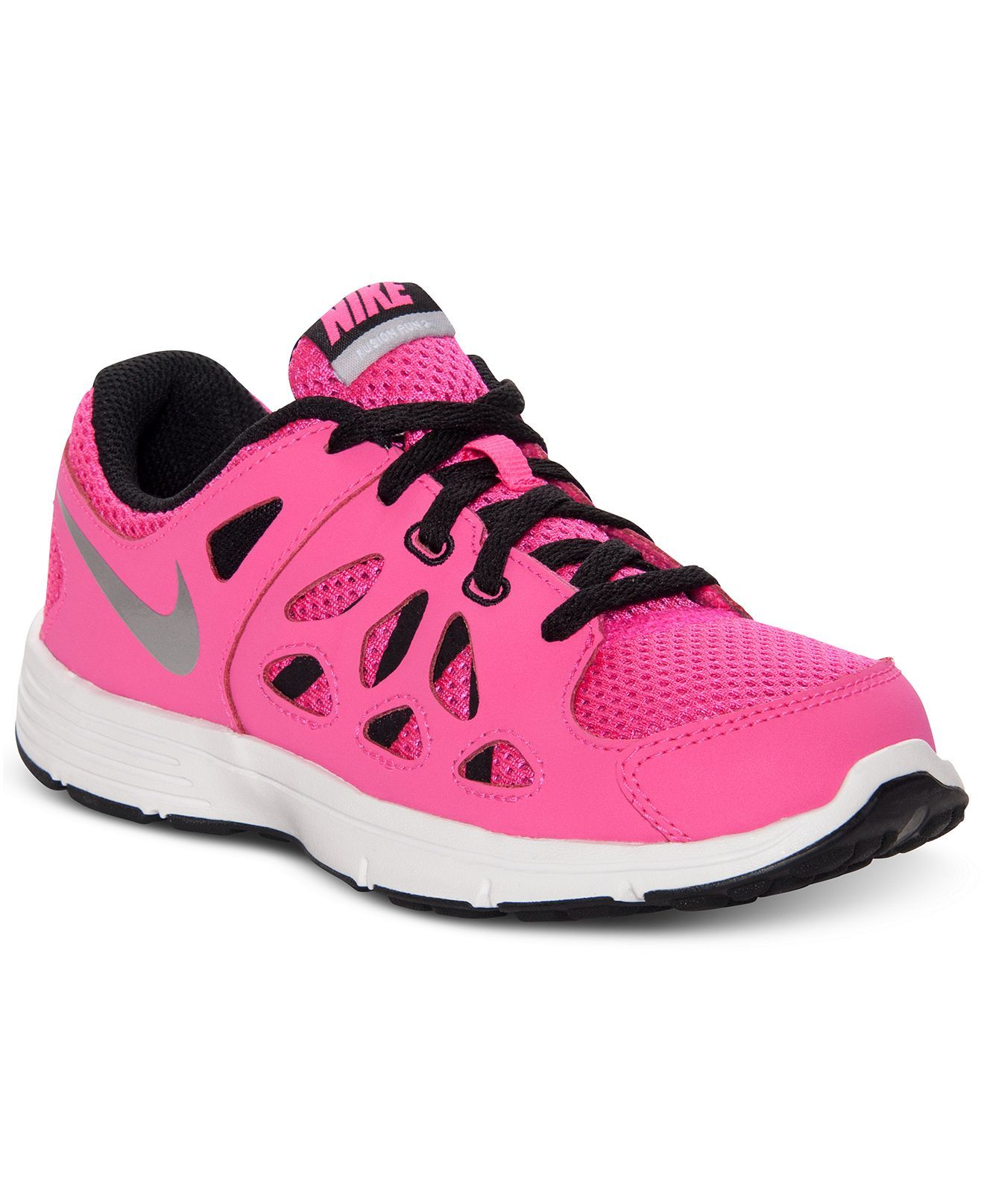 new arrival 2cbac a846a Nike Kids Shoes, Girls Dual Fusion Run 2 Running Sneakers - Kids Finish  Line Athletic Shoes - Macy s