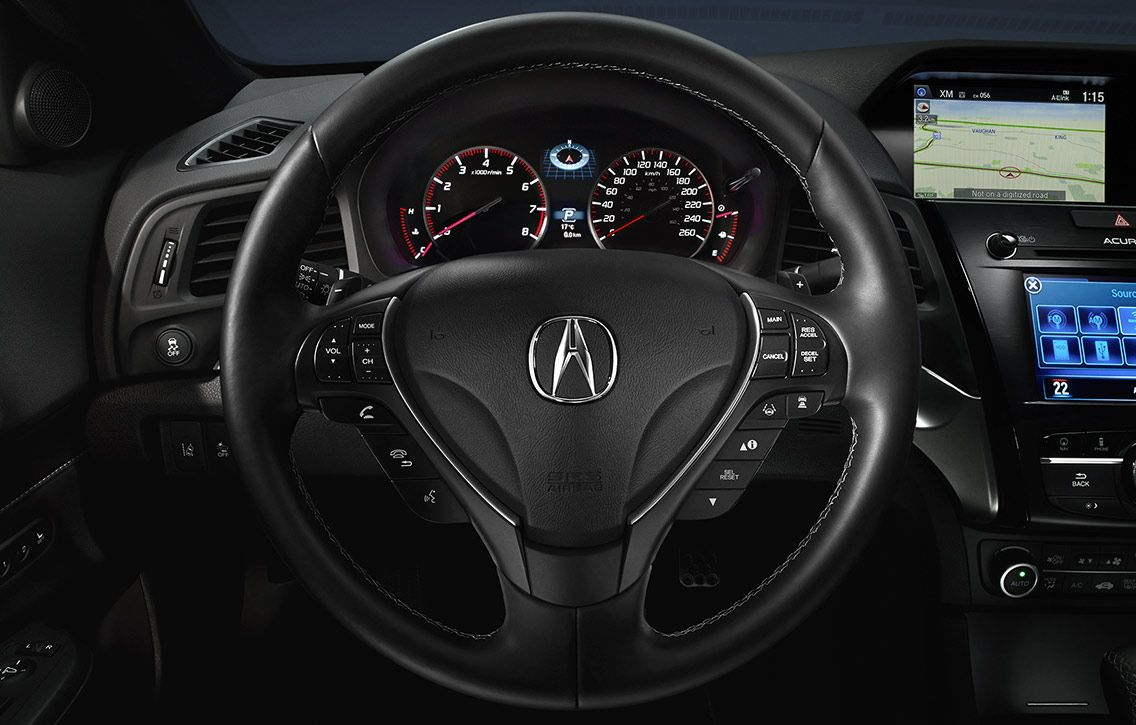 Image of steering wheel in the 2017 Acura ILX Carros