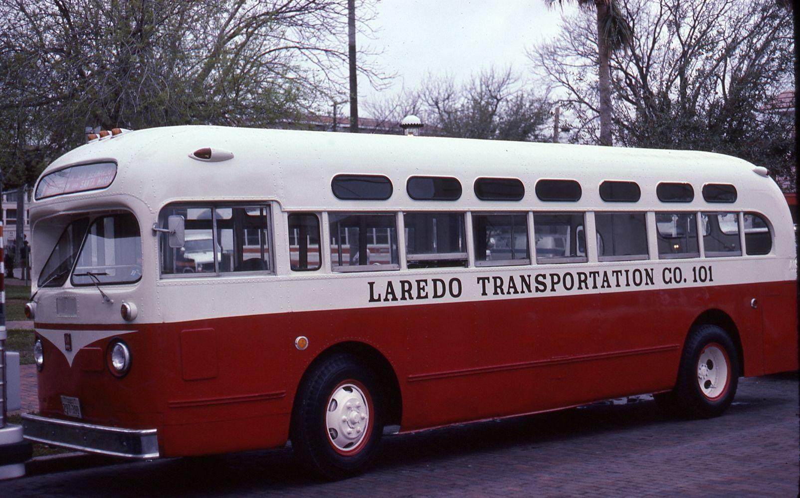 Laredo Transportation Co Old Look Gmc Laredo Bus Coach Touring