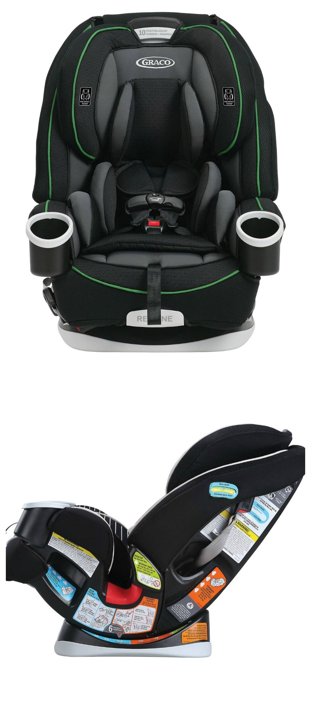 Our List Of The Best Convertible Car Seats Include Graco 4Ever All In One Seat Why We Love It 1 Gives You 10