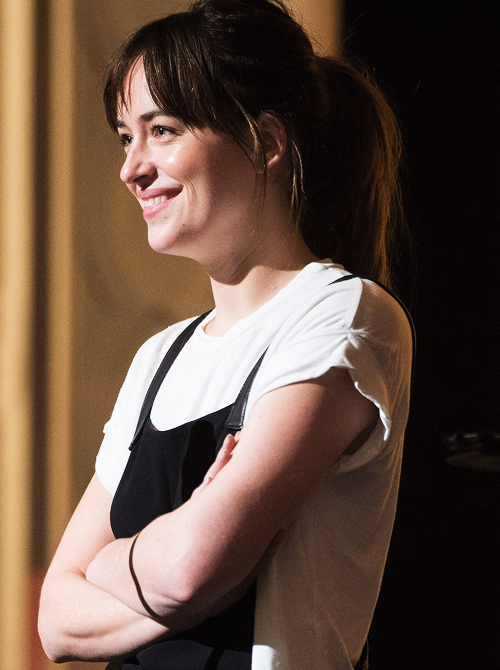 """""""Dakota during Rehearsals For The 87th Academy Awards In Los Angeles, Friday, Feb. 20 """""""