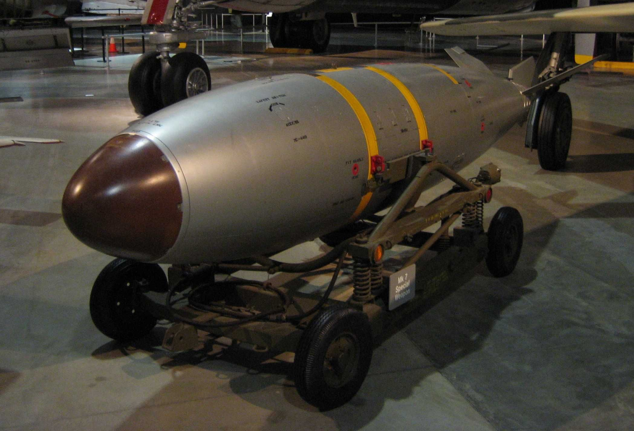 Ever wonder what a nuclear bomb looks like? This one is a