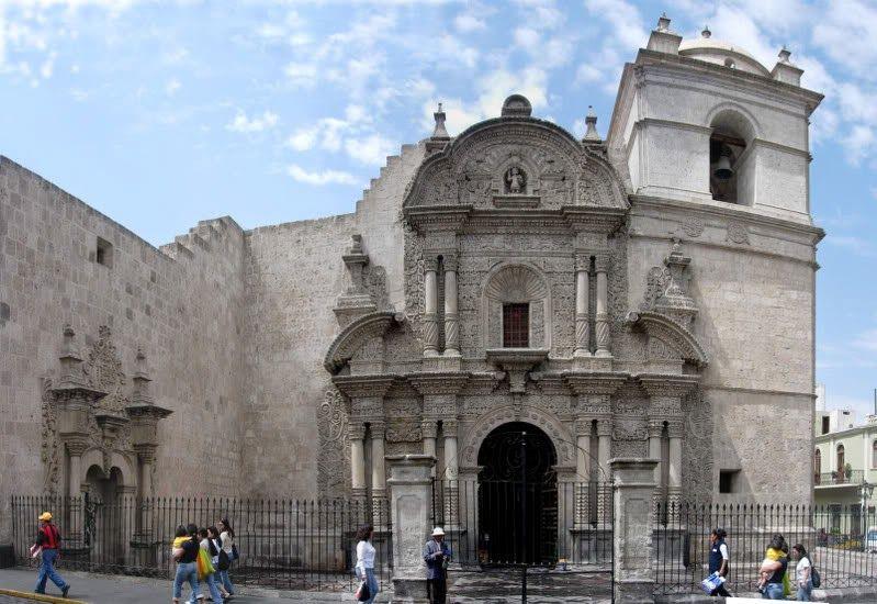 iglesia de la compañía de jesús arequipa