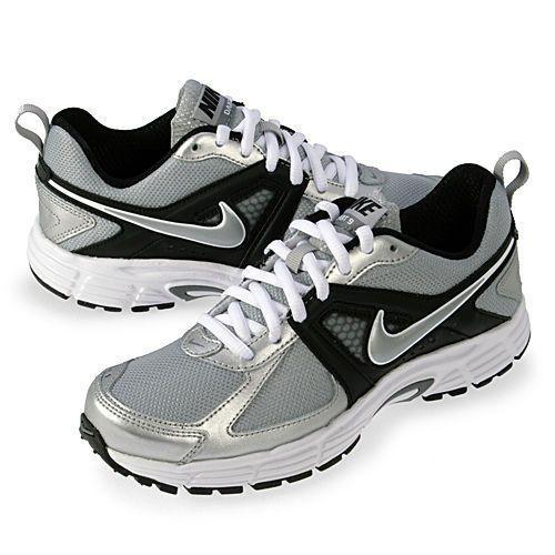 reputable site 9d0fb 027e3 Nike Dart 9 GS Big Kids 4.5 Boys Youth Silver Black White NIB Sneakers Shoes  NEW  Nike  Athletic