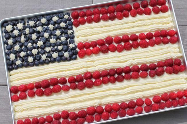 Barefoot Contessa S Flag Cake Recipe Food Com Recipe Flag Cake Flag Cake Recipe Food