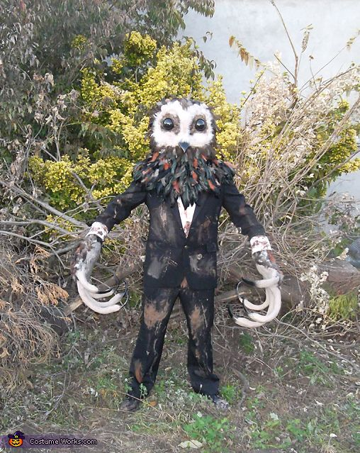 Lord of Tears Owlman Halloween Costume Contest at