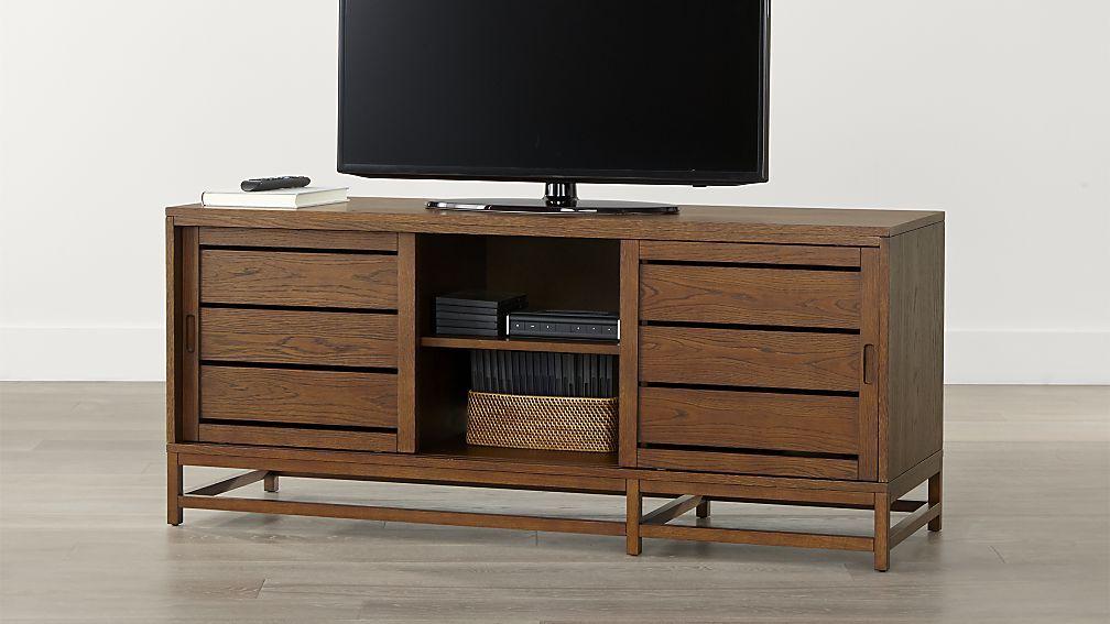 "Clapboard Bourbon 60"" Media Console CB Sale $539 Oak veneer, engineered wood 26"" 60"" 20"""