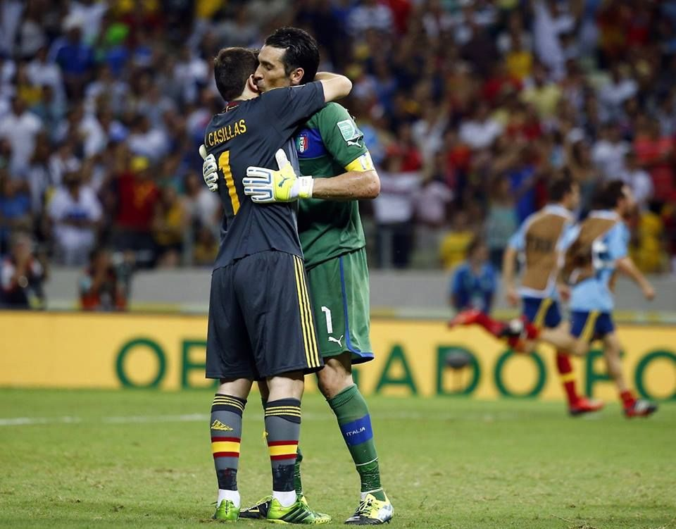 BUFFON, CASILLAS
