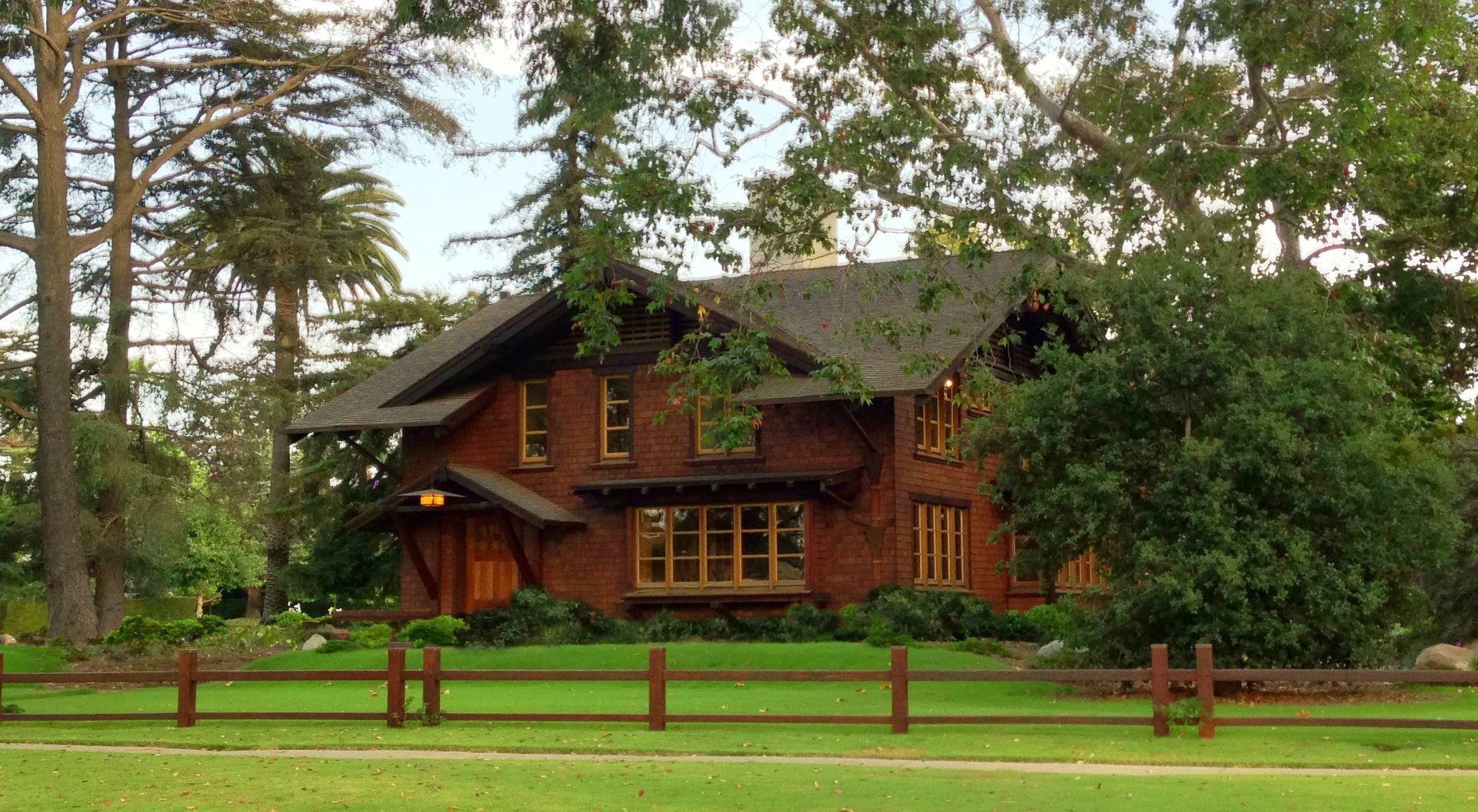 Reeve Townsend House In Long Beach CA A Greene