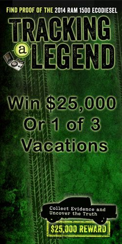 Win $25,000 or 1 of 3 Vacations