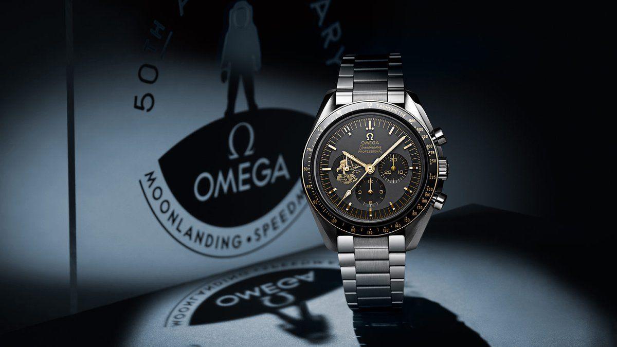 ساعات أوميغا Omega Speedmaster ساعات أوميغا Omega Speedmaster جوهرة حقيقية من الفولاذ والزجاج والخشب من أصل سويسري ال Omega Speedmaster Omega Apollo 11