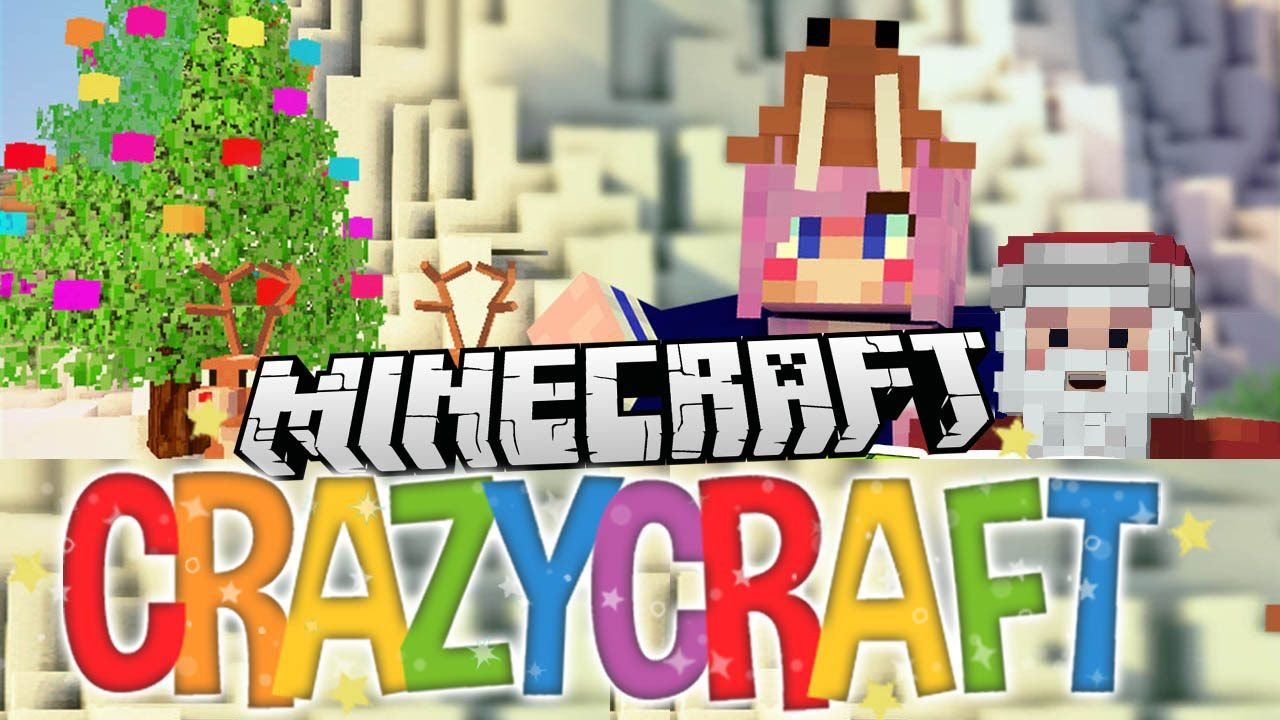 christmas ep 23 minecraft crazy craft 30 youtube - Christmas Minecraft Videos