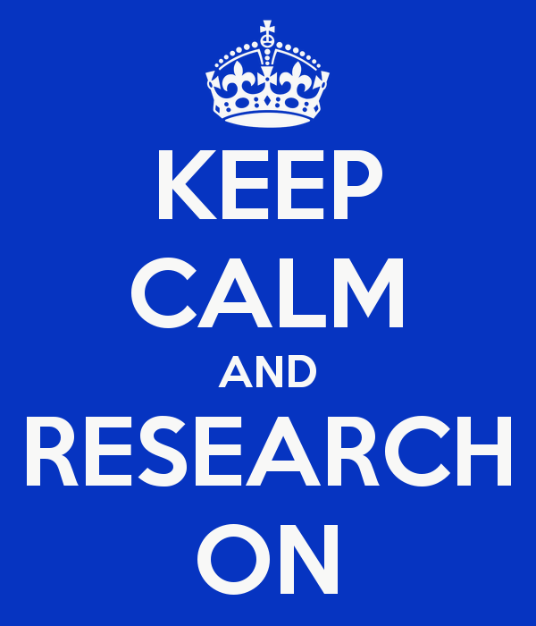 Image result for keep calm and research on
