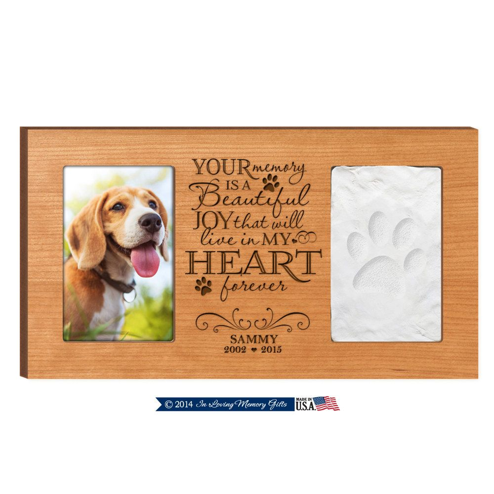 Personalized Pet Memorial Frame,Pet Memorial gift,Pet memorial frame ...