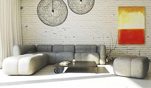 NEW: modular sofa by mminterier