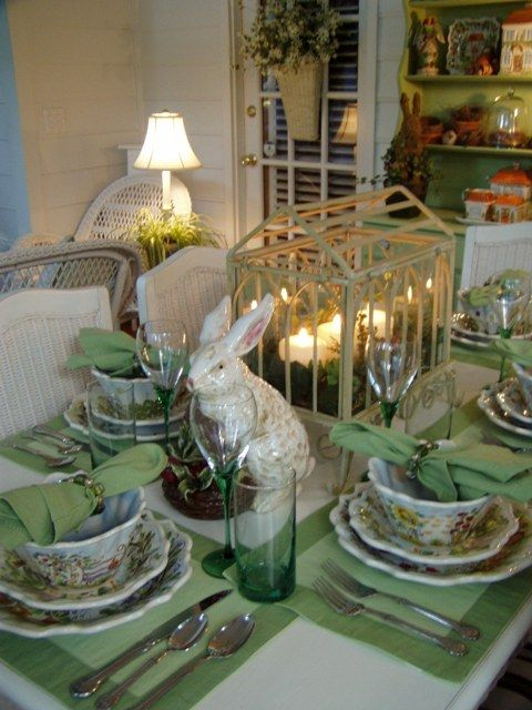 A Springtime Table Setting With Ma Maison