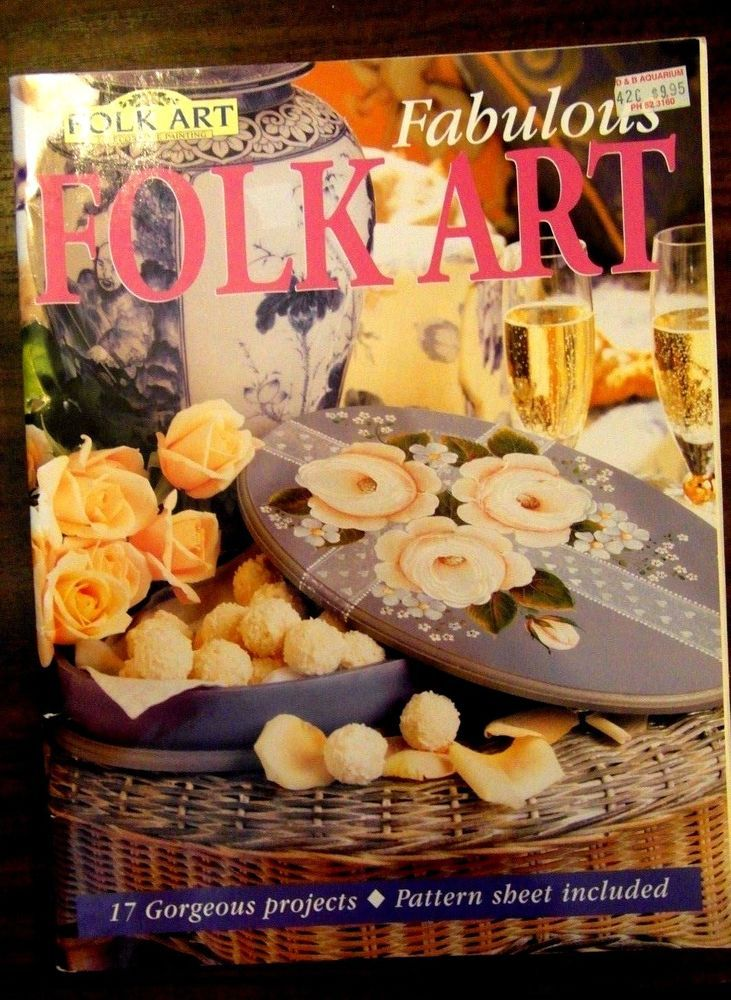 Folk Art Decorative Painting Magazines