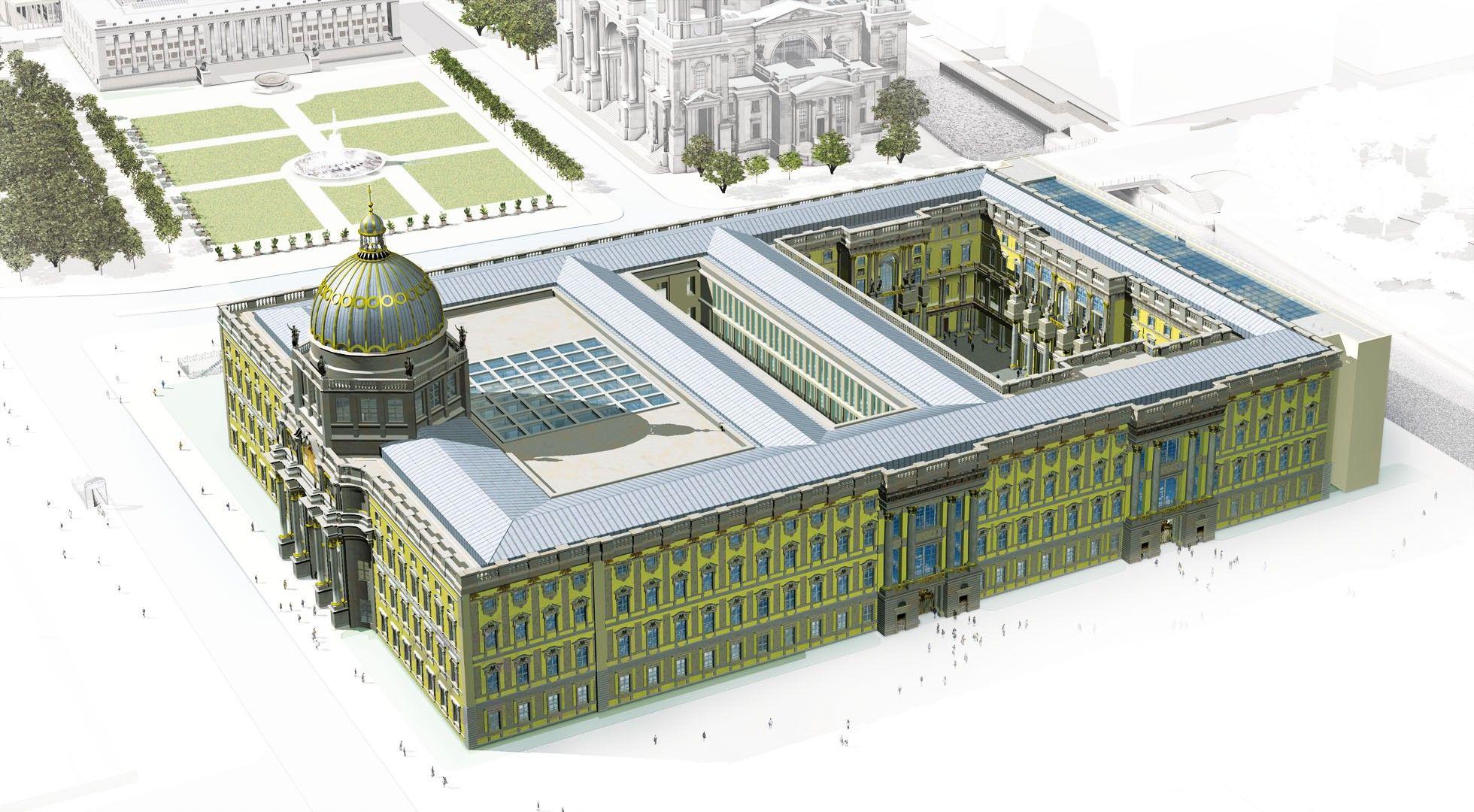 Berlin City Palace Reconstruction Stadtschloss Humboldt Forum U C Berlin Palace Berlin City Humboldt Forum