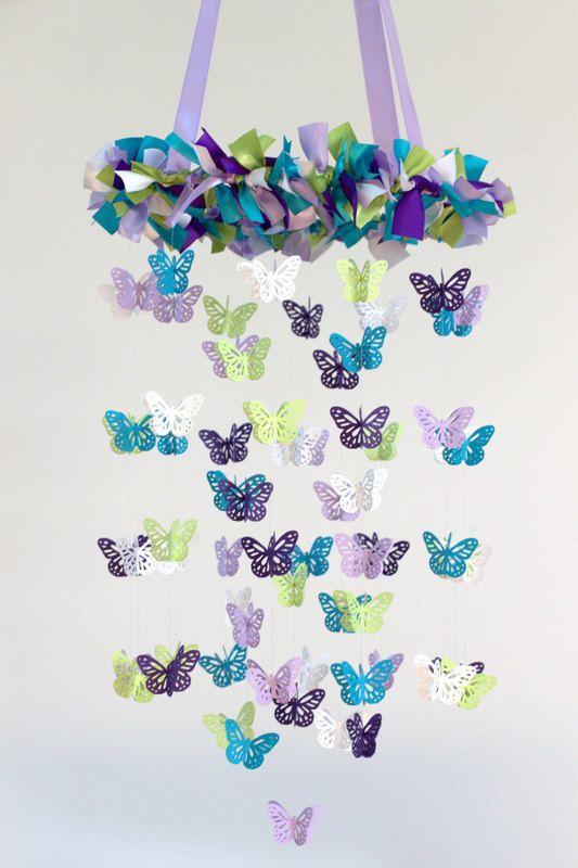 Diy Butterfly Mobile Craft Ideas Crochet Butterfly Free Pattern