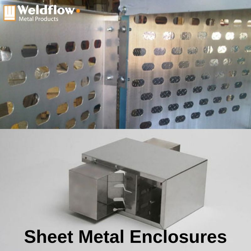 Custom Sheet Metal Enclosures Weldflow Metal Products In 2020 Types Of Sheet Metal Metal Products Sheet Metal