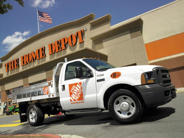 Truck Rental Rent A Truck Conveniently At The Home Depot Roznichnye Magaziny Magaziny