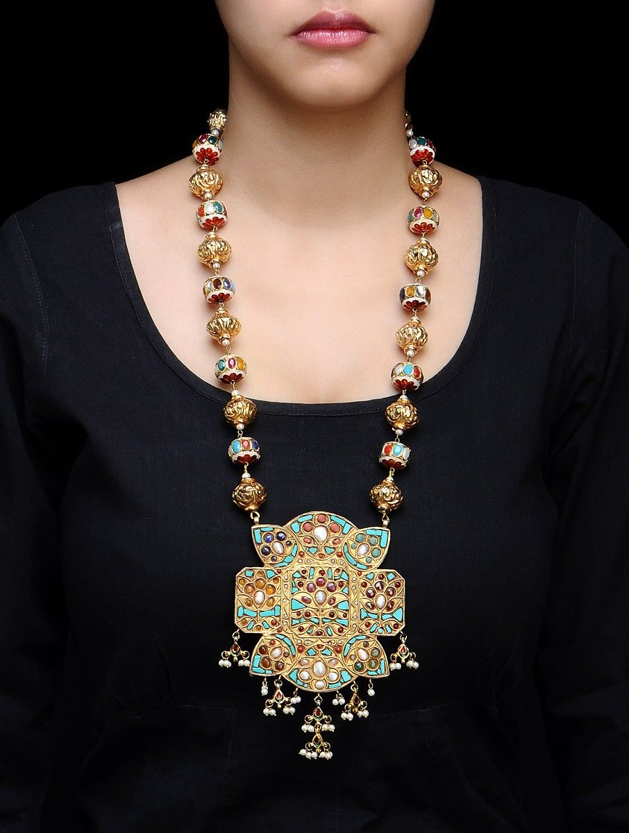 nepali design jewelry gold necklace jewellery nepal coin
