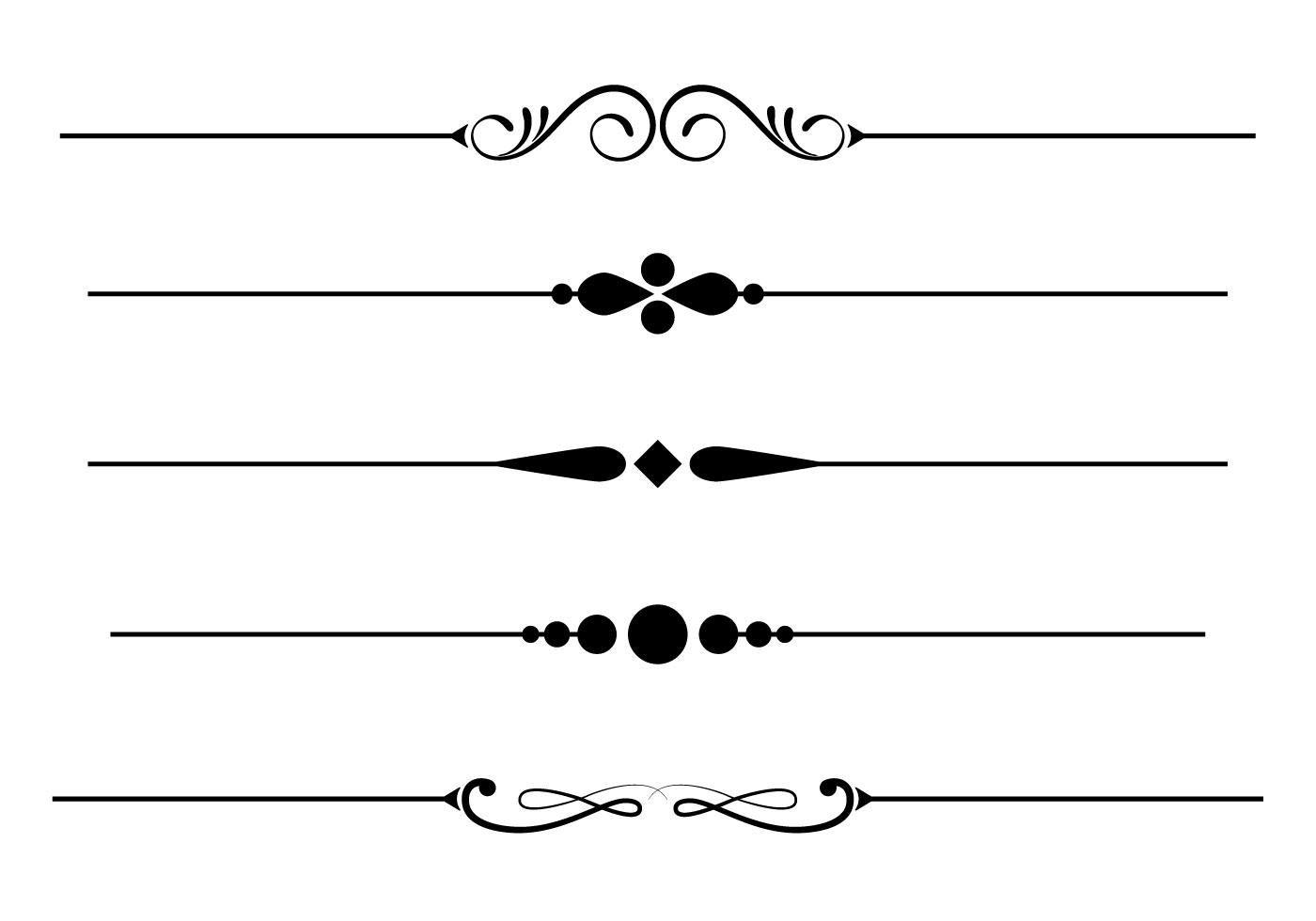 Free Fancy Lines Vector