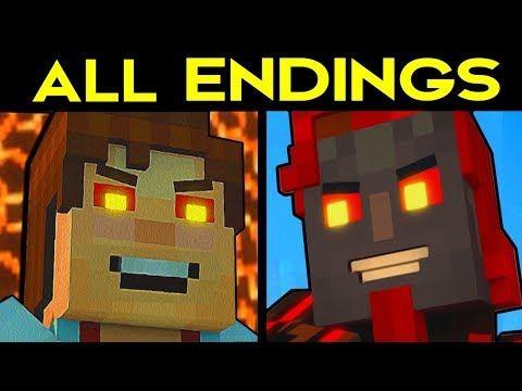 Minecraft Story Mode Season 2 Episode 4 All Endings Bad Ending 1