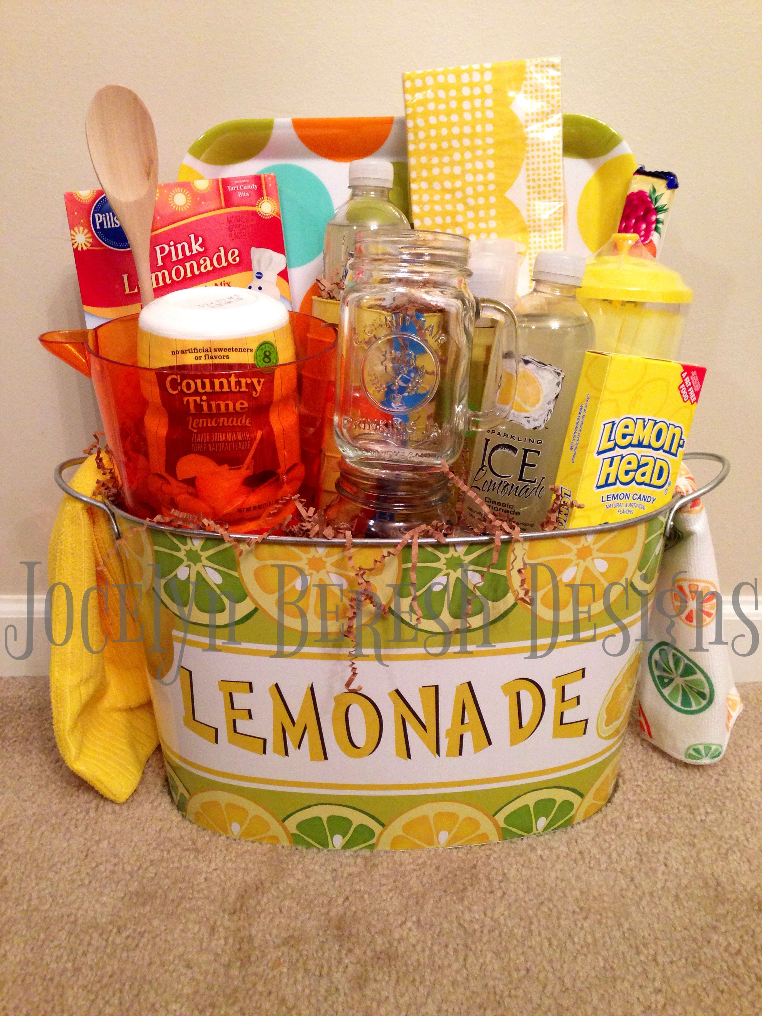 Lemonade gift basket by jocelynbereshdesigns like us on fb for lemonade gift basket by jocelynbereshdesigns like us on fb for great great negle Choice Image