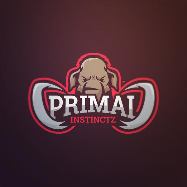 Primal Mammoth Mascot Logo on Behance Esportes, Logo e