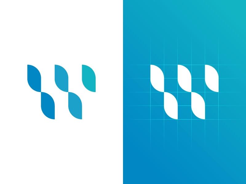 Waterfall Logo Design Logo Design Logo Concept Logos