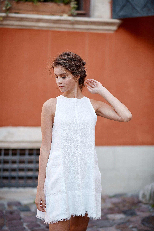 Pin By Mia Gonzalez On Linen Clothes As Lifestyle Silk Dress Linen Dresses Linen Sundress White Dress Party [ 3000 x 2003 Pixel ]