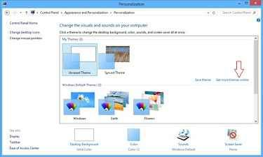 Tips For How To Change Windows 8 Themes And Desktop Backgrounds In Windows 8 Windows Theme Windows 8