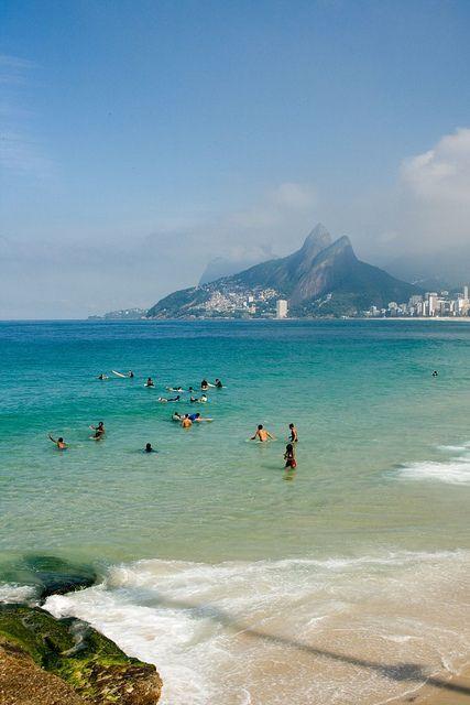 Ipanema Beach, Brazil