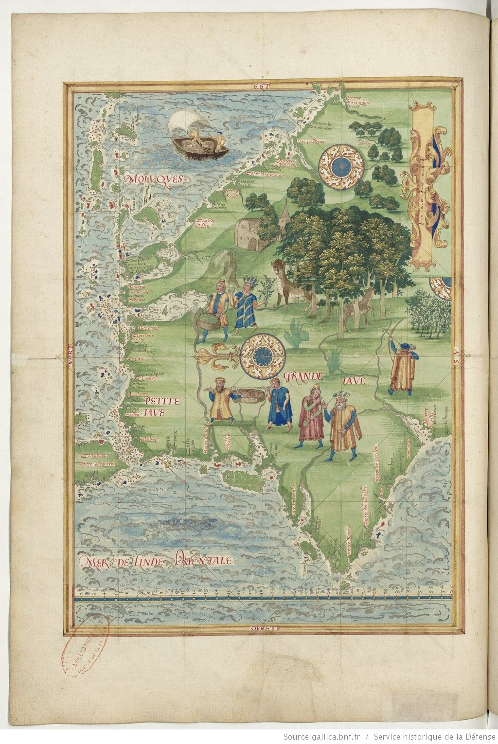 Universal cosmography from guillaume le testu 1555 the great java gumiabroncs Image collections