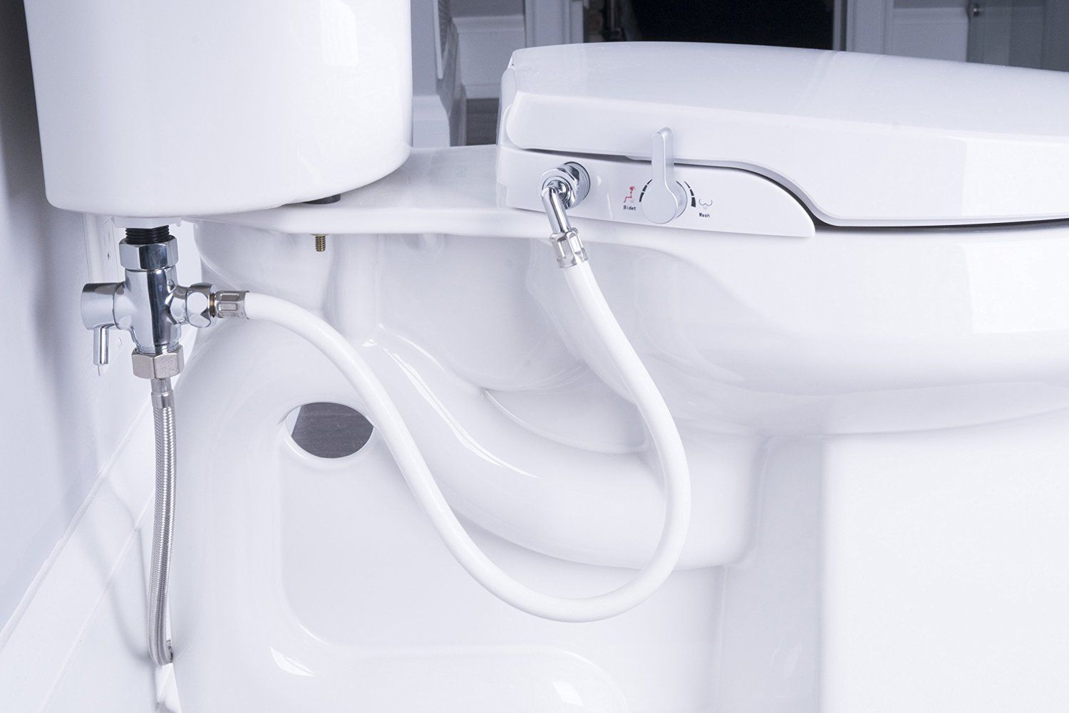 Veken Non Electric Bidet Self Cleaning Dual Nozzle Frontal