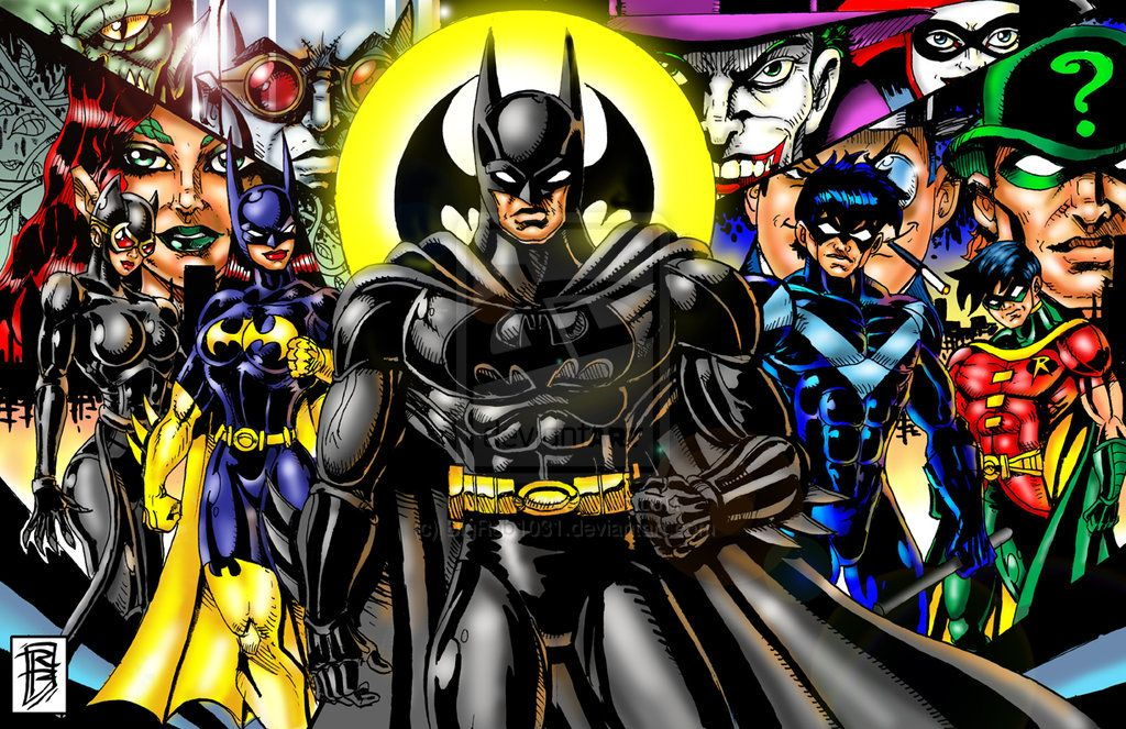 New 52 Batman Family