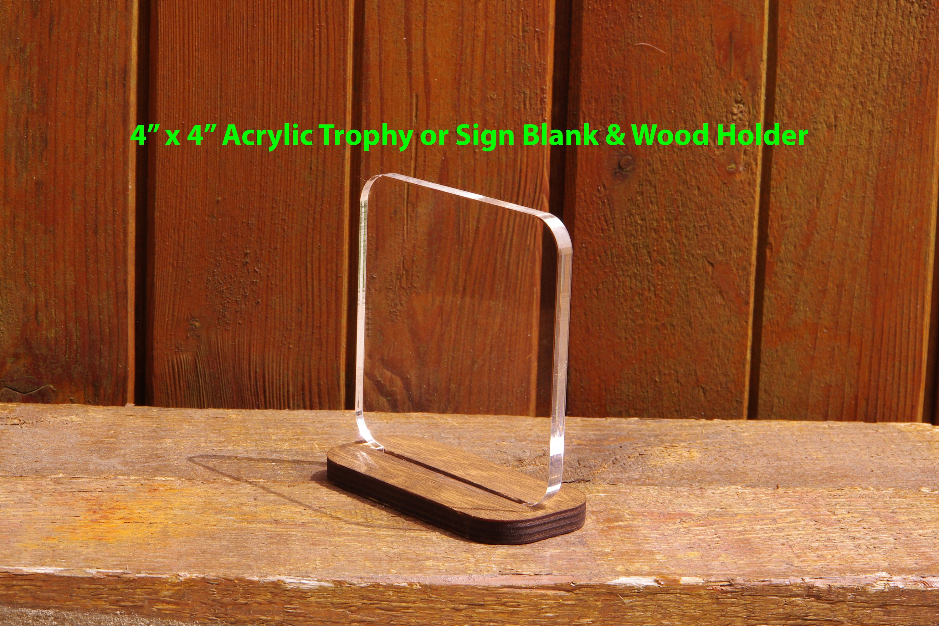 This Item Is Unavailable Sign Holder Blank Sign Acrylic Trophy