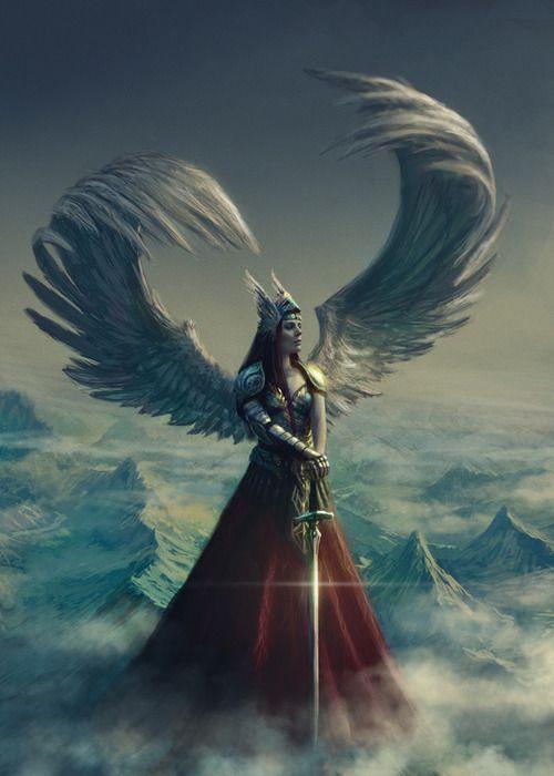 Athena the Guardian Angel Goddess