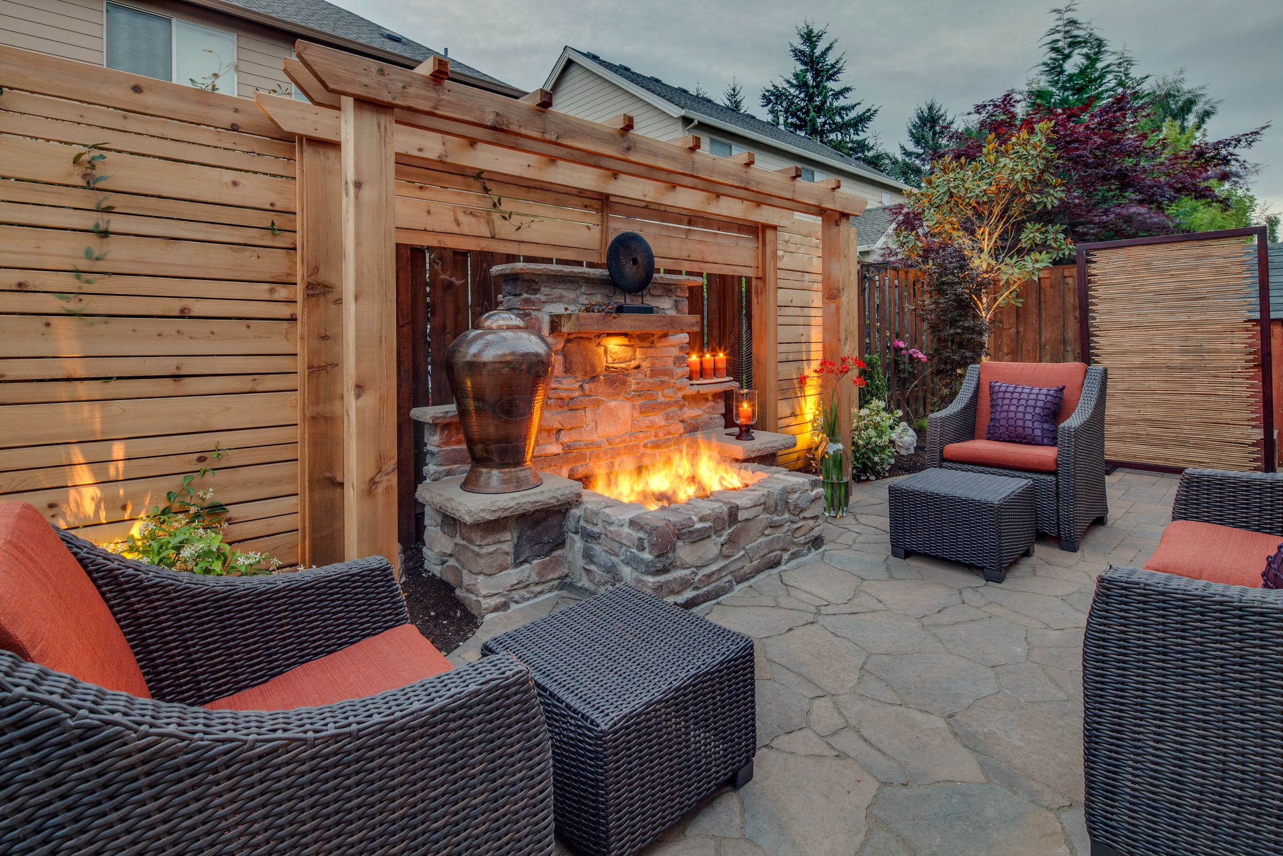 Private Backyard Retreat - fun for friends and family - | Exteriors ...