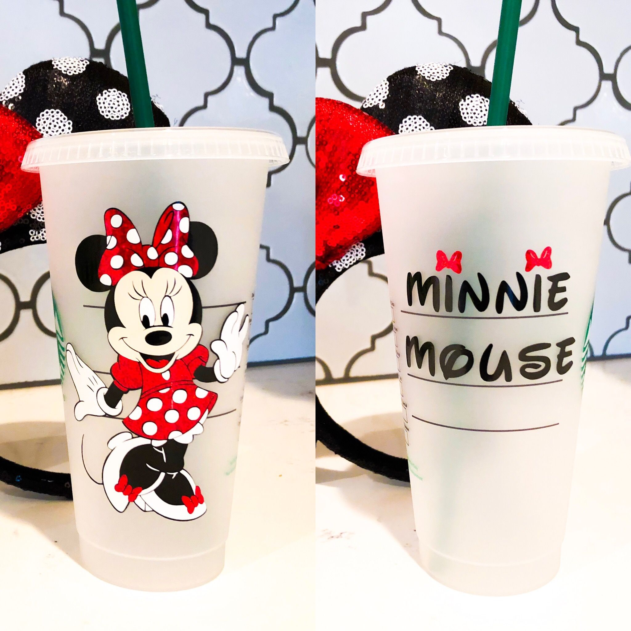 Last Chance Mickey Mouse Inspired Reusable Disney Starbucks Cup For Cold Beverages Personalized Or Character Name Starbucks Cups Personalized Starbucks Cup Custom Starbucks Cup