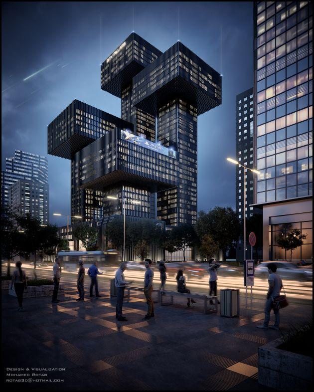 CGarchitect - Professional 3D Architectural Visualization User Community | City Pillars