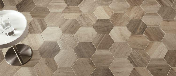 Fussboden Fliesen fußboden fliesen in sechseckiger form und das tex design floor
