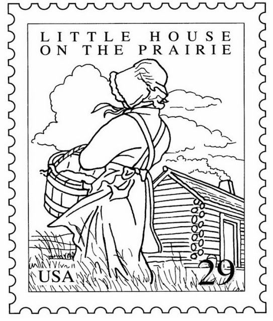 Lhotp Stamp Coloring Page Coloring Pages House Colouring Pages